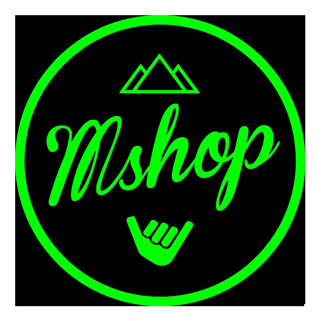 MShop | Skate y escalada para la vida Logo